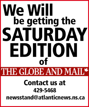 Globe and Mail Saturday edition